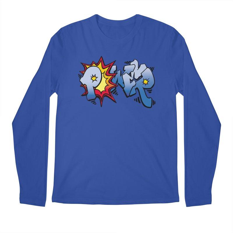 Explosive Power! Men's Regular Longsleeve T-Shirt by Power Artist Shop