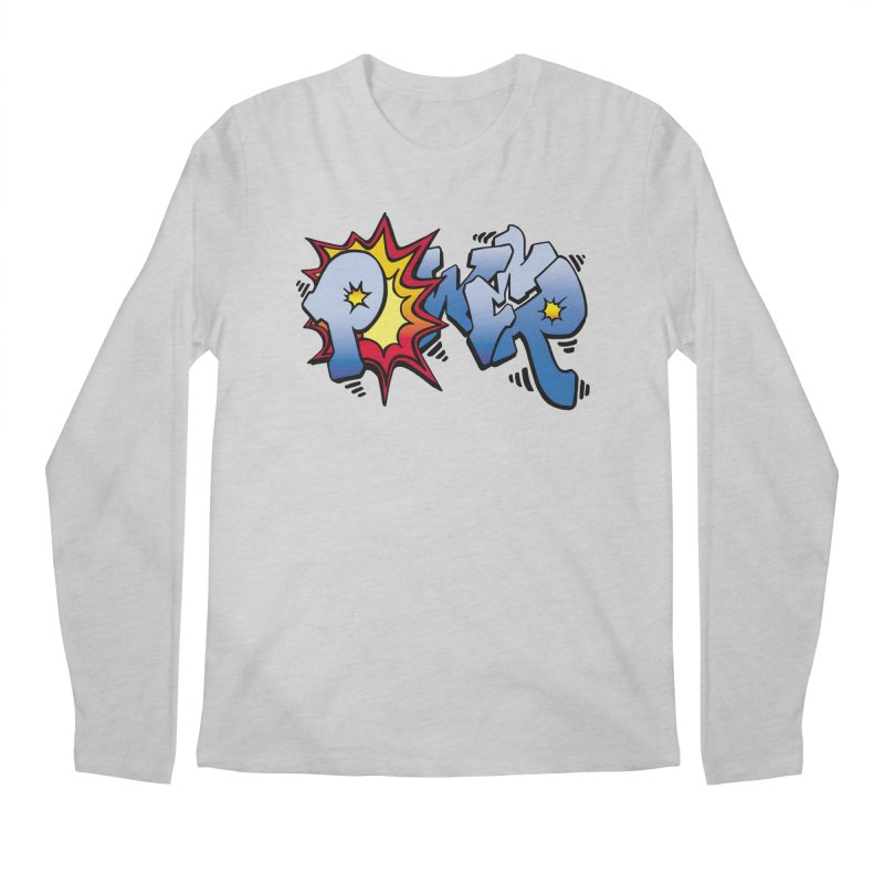 Explosive Power! Men's Regular Longsleeve T-Shirt by Power Artist Shop