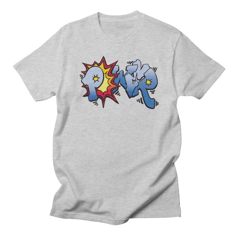 Explosive Power! Men's Regular T-Shirt by Power Artist Shop