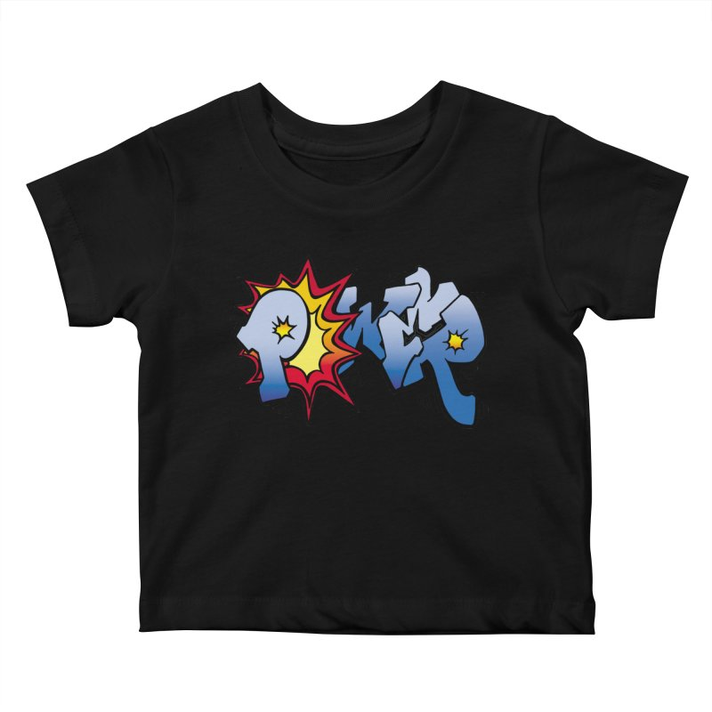 Explosive Power! Kids Baby T-Shirt by Power Artist Shop