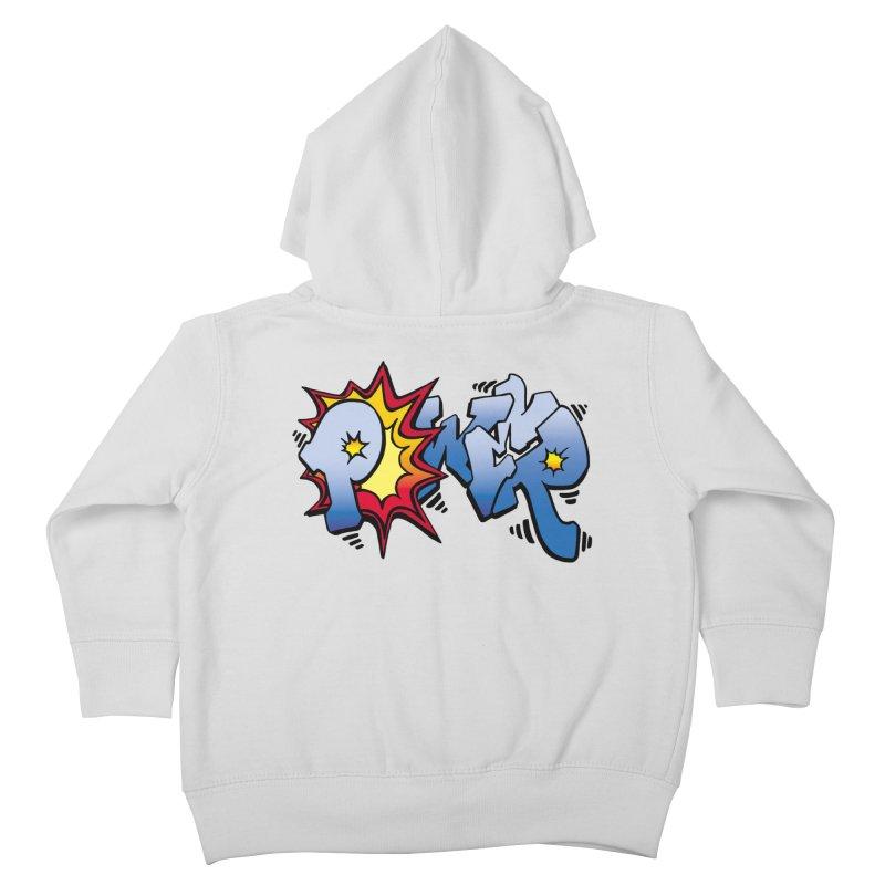 Explosive Power! Kids Toddler Zip-Up Hoody by Power Artist Shop
