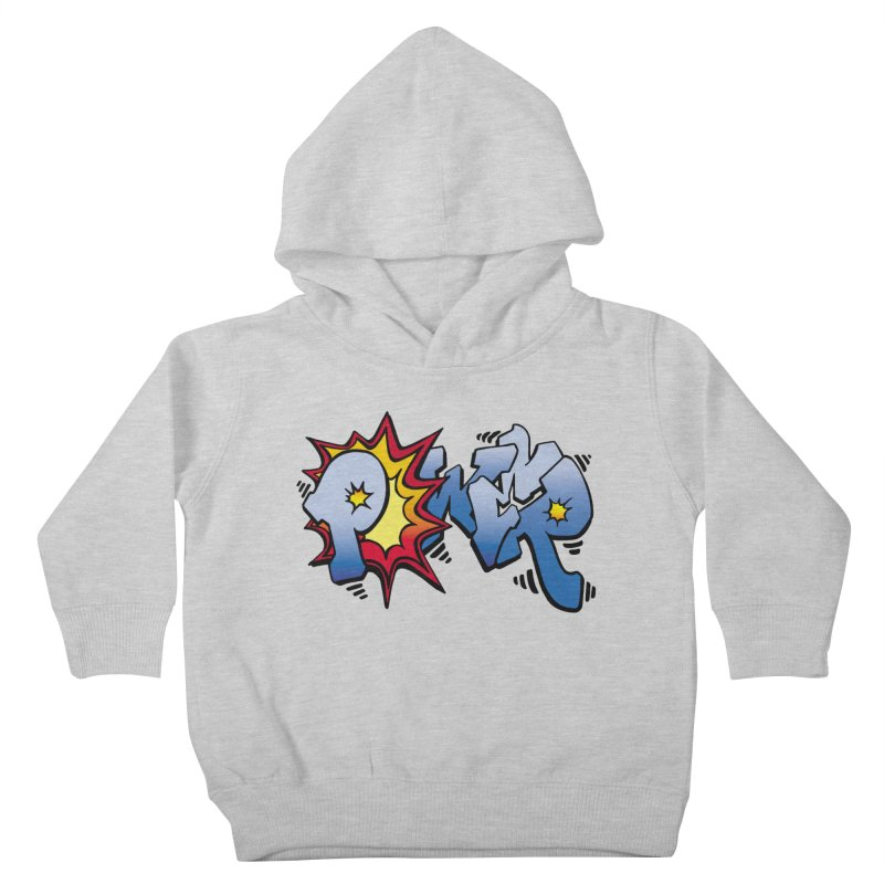 Explosive Power! Kids Toddler Pullover Hoody by Power Artist Shop