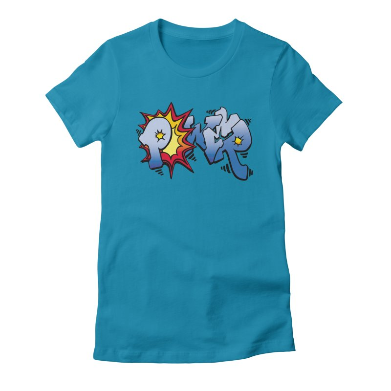 Explosive Power! Women's Fitted T-Shirt by Power Artist Shop