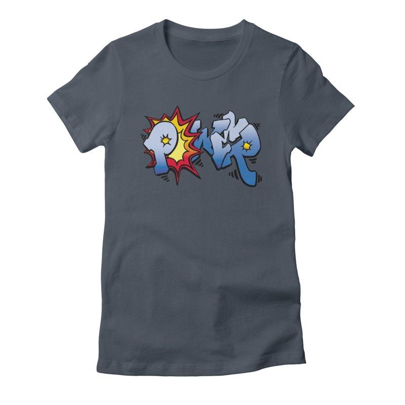 Explosive Power! Women's T-Shirt by Power Artist Shop