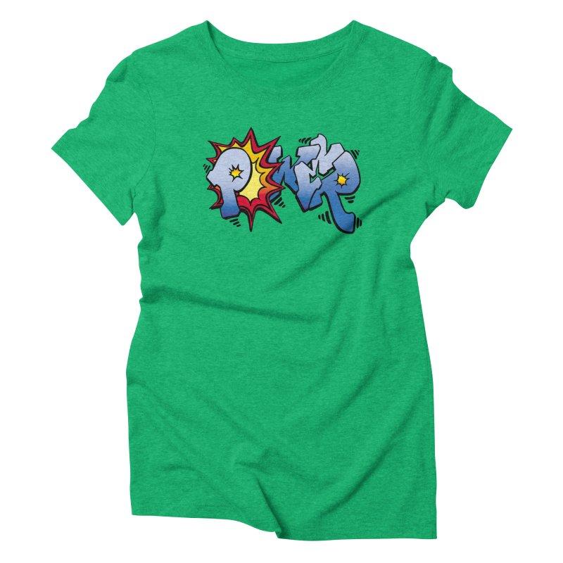 Explosive Power! Women's Triblend T-Shirt by Power Artist Shop