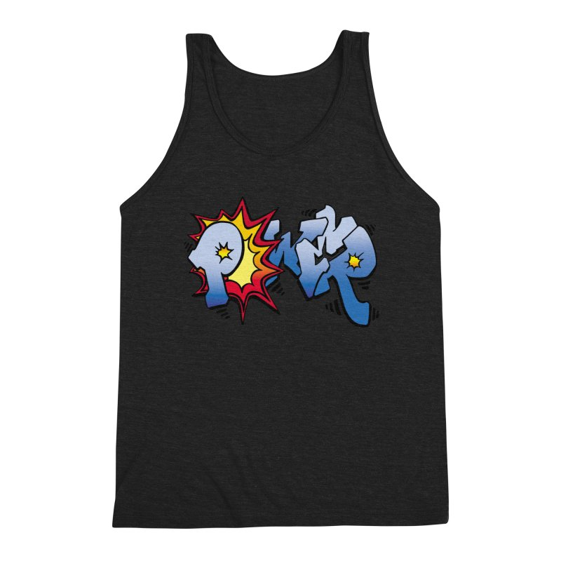 Explosive Power! Men's Triblend Tank by Power Artist Shop