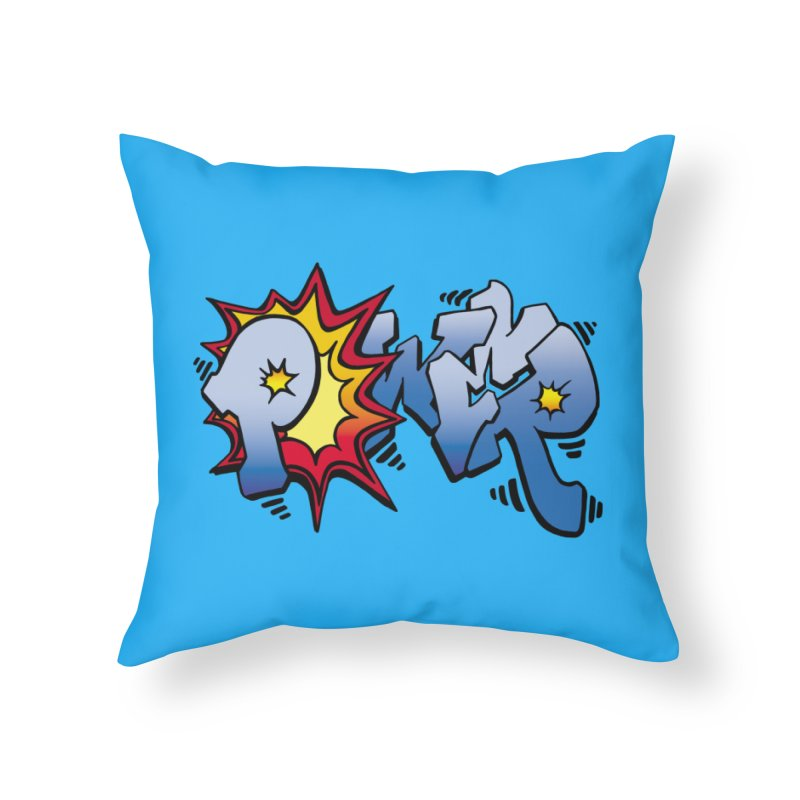 Explosive Power! Home Throw Pillow by Power Artist Shop