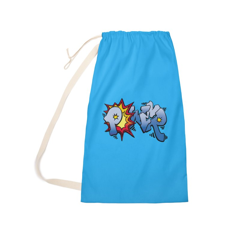 Explosive Power! Accessories Laundry Bag Bag by Power Artist Shop
