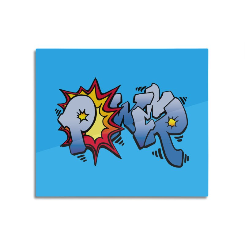 Explosive Power! Home Mounted Aluminum Print by Power Artist Shop