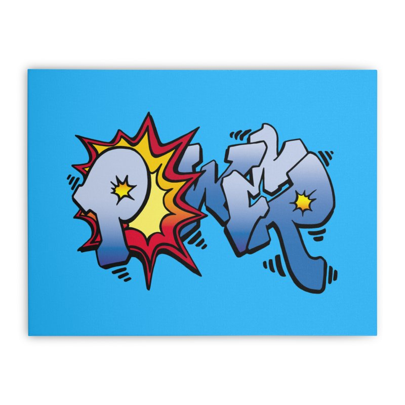 Explosive Power! Home Stretched Canvas by Power Artist Shop