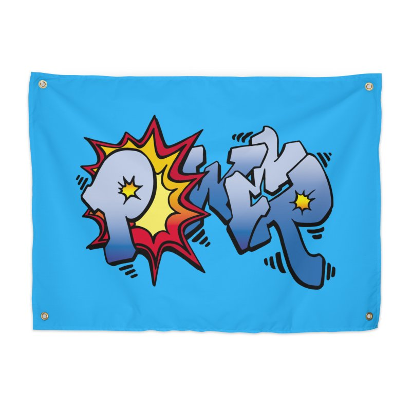 Explosive Power! Home Tapestry by Power Artist Shop