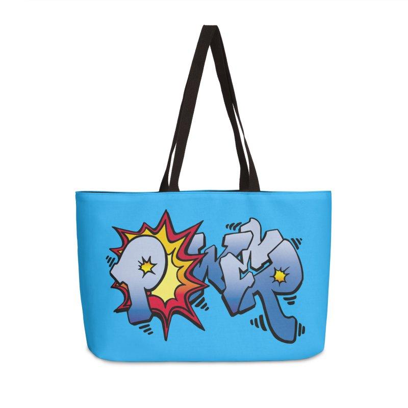Explosive Power! Accessories Weekender Bag Bag by Power Artist Shop