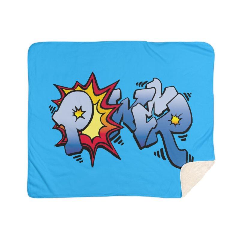 Explosive Power! Home Sherpa Blanket Blanket by Power Artist Shop