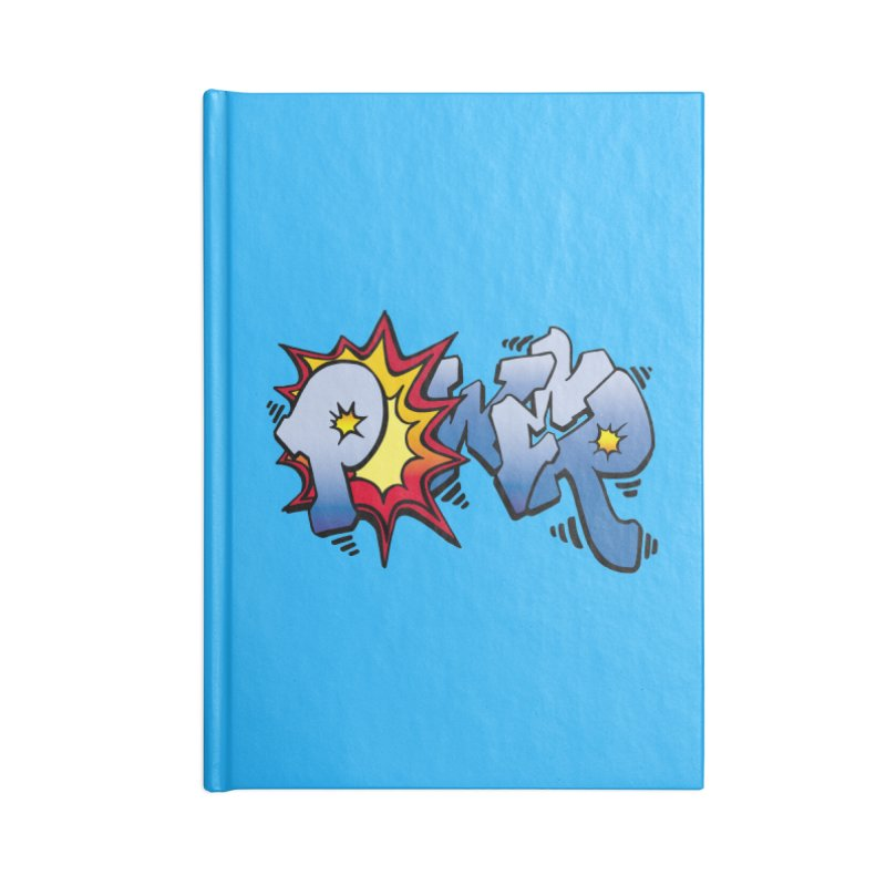 Explosive Power! Accessories Lined Journal Notebook by Power Artist Shop