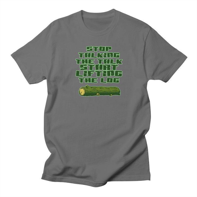 Stop Talking The Talk Men's T-Shirt by Power Artist Shop
