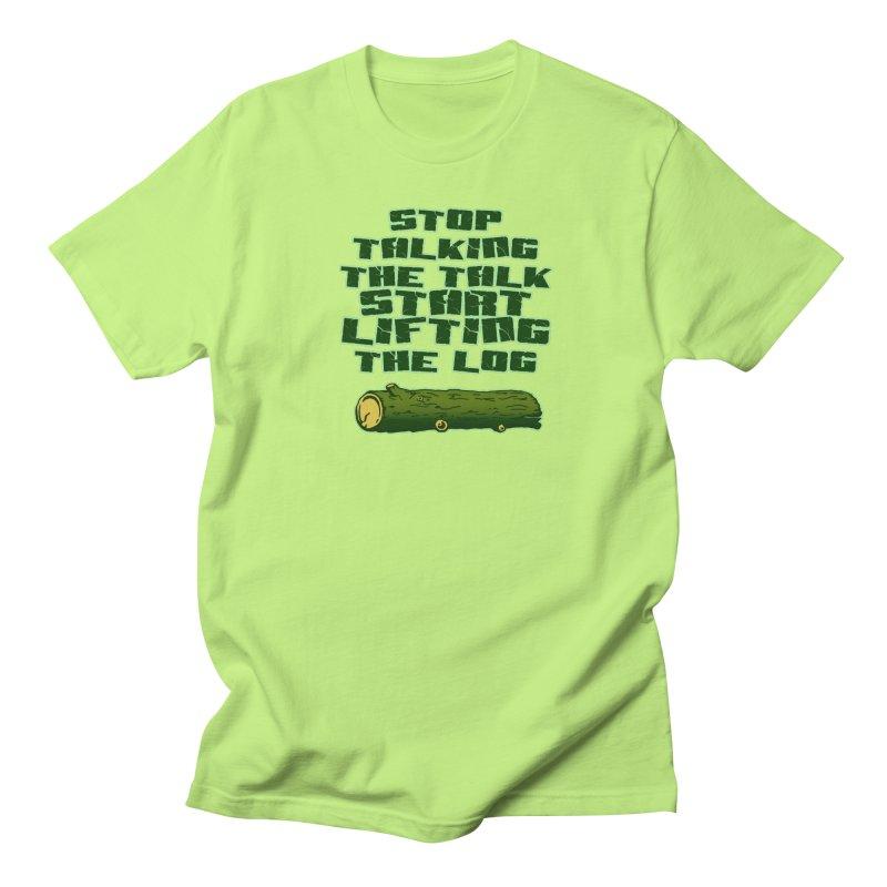 Stop Talking The Talk Men's Regular T-Shirt by Power Artist Shop