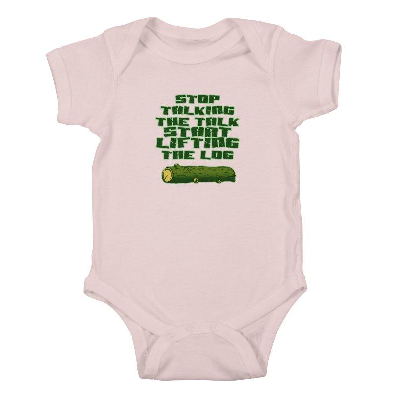Stop Talking The Talk Kids Baby Bodysuit by Power Artist Shop