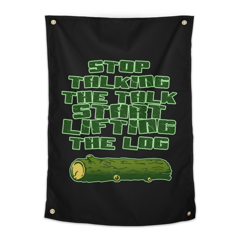 Stop Talking The Talk Home Tapestry by Power Artist Shop
