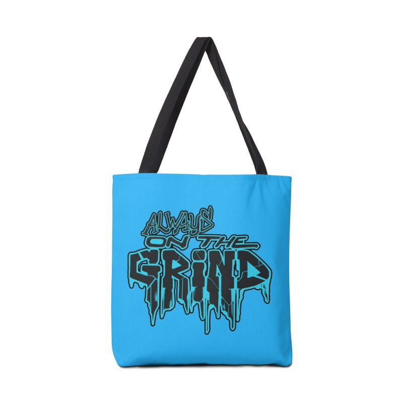 Always On The Grind Accessories Tote Bag Bag by Power Artist Shop