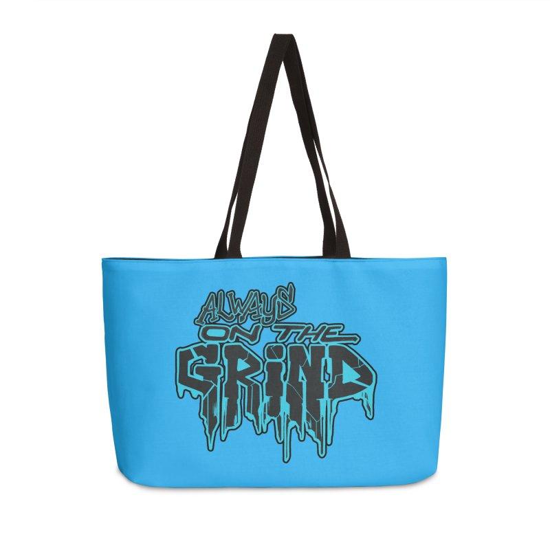 Always On The Grind Accessories Weekender Bag Bag by Power Artist Shop