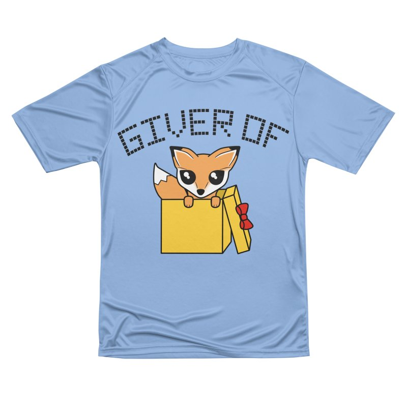 Giver of Fox Women's T-Shirt by Power Thru the 4th Whistle Roller Derby Podcast