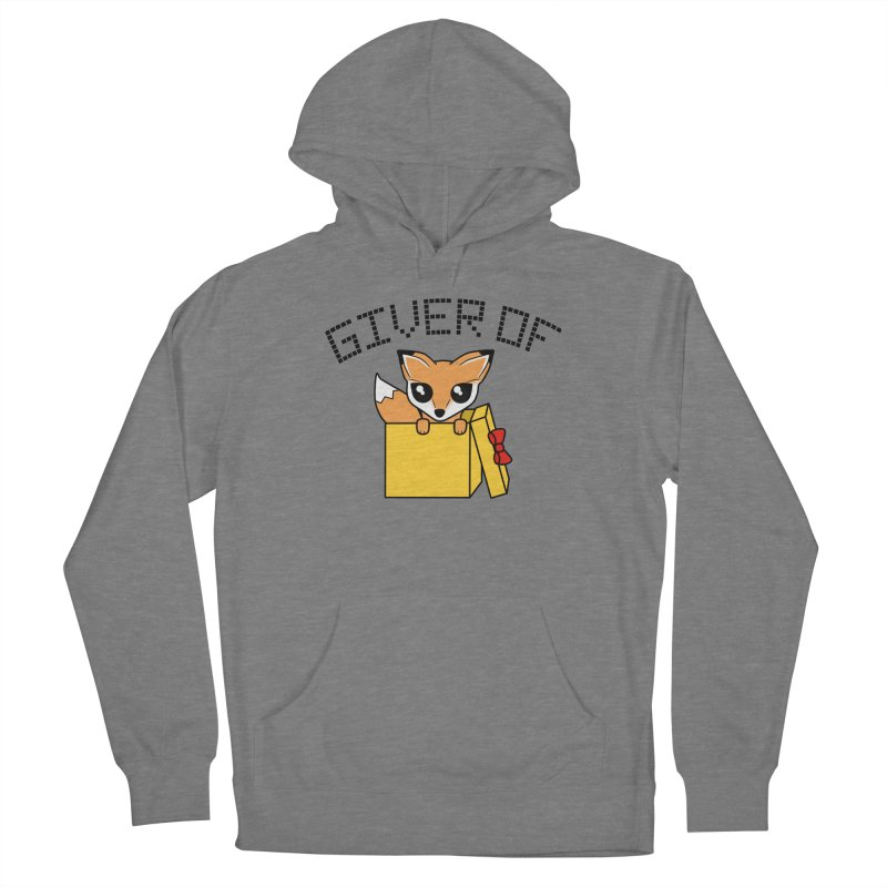 Giver of Fox Women's Pullover Hoody by Power Thru the 4th Whistle Roller Derby Podcast