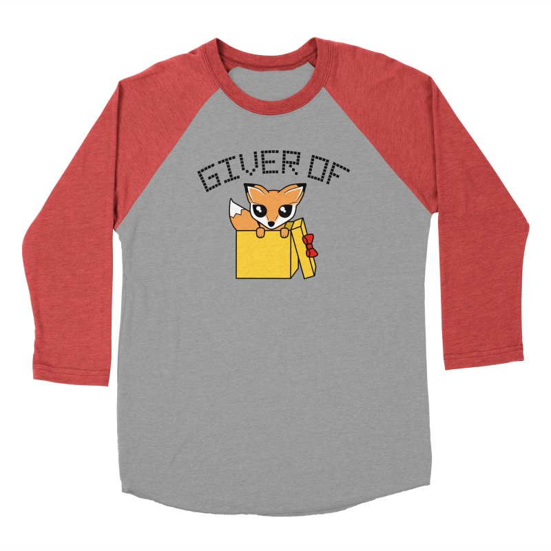 Giver of Fox Men's Longsleeve T-Shirt by Power Thru the 4th Whistle Roller Derby Podcast