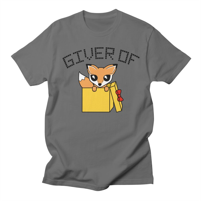 Giver of Fox Men's T-Shirt by Power Thru the 4th Whistle Roller Derby Podcast