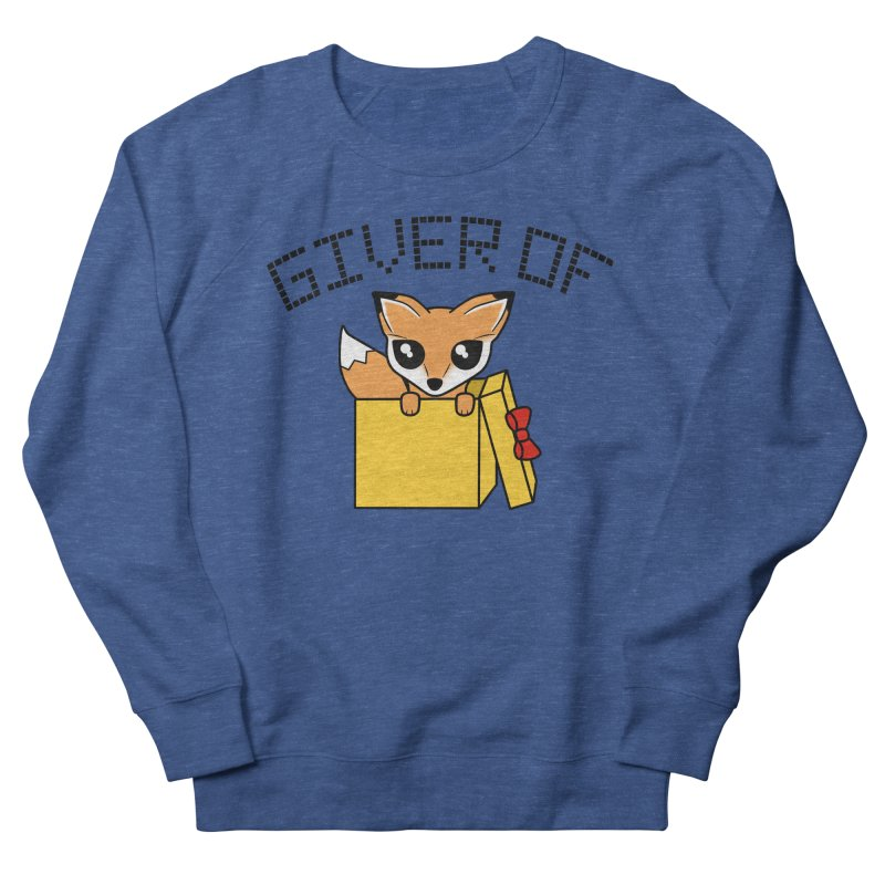 Giver of Fox Men's Sweatshirt by Power Thru the 4th Whistle Roller Derby Podcast