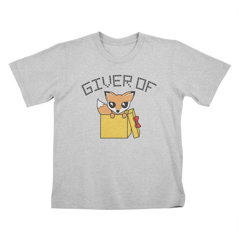Giver of Fox Kids T-Shirt by Power Thru the 4th Whistle Roller Derby Podcast