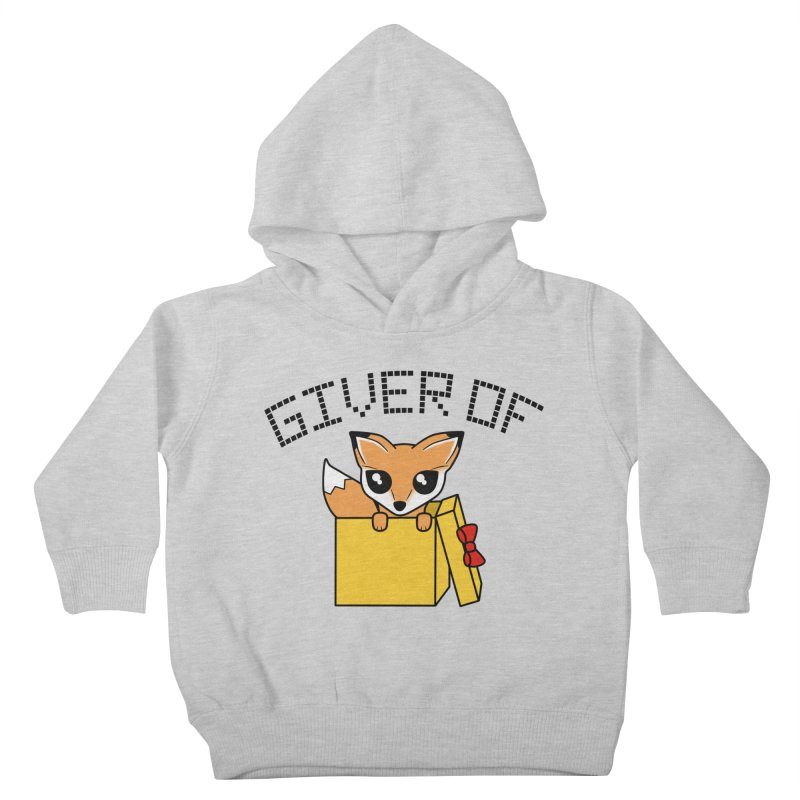 Giver of Fox Kids Toddler Pullover Hoody by Power Thru the 4th Whistle Roller Derby Podcast
