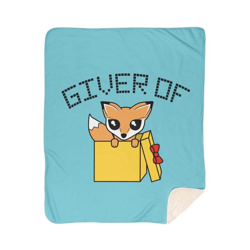 Giver of Fox Home Blanket by Power Thru the 4th Whistle Roller Derby Podcast