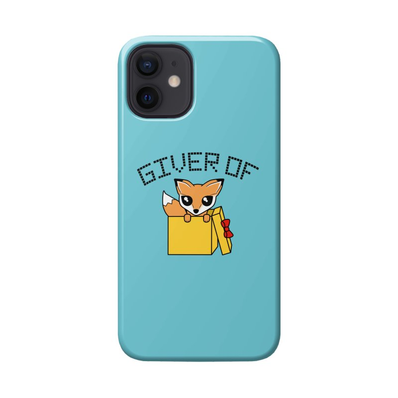 Giver of Fox Accessories Phone Case by Power Thru the 4th Whistle Roller Derby Podcast