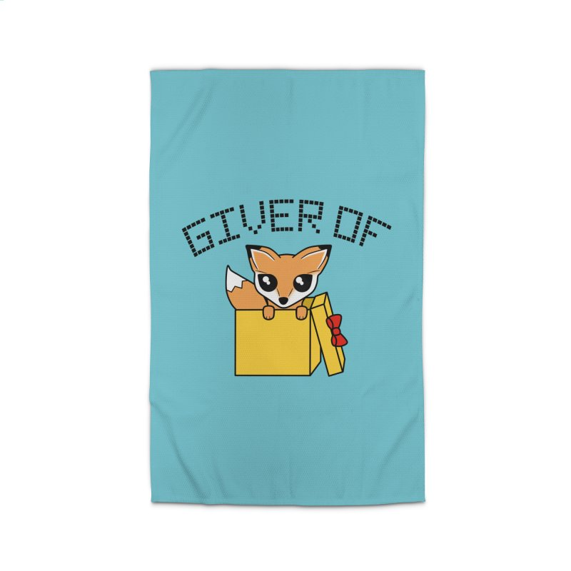 Giver of Fox Home Rug by Power Thru the 4th Whistle Roller Derby Podcast
