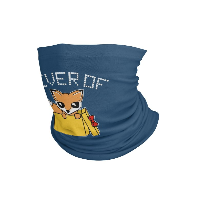 Giver of Fox Accessories Neck Gaiter by Power Thru the 4th Whistle Roller Derby Podcast