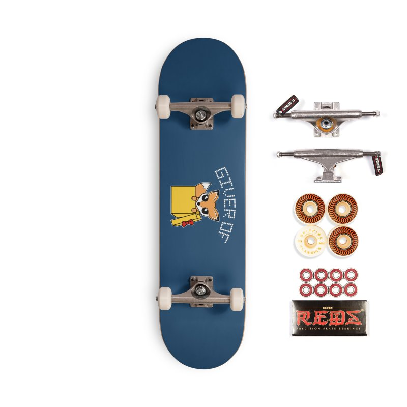 Giver of Fox Accessories Skateboard by Power Thru the 4th Whistle Roller Derby Podcast