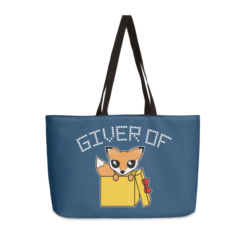 Giver of Fox Accessories Bag by Power Thru the 4th Whistle Roller Derby Podcast