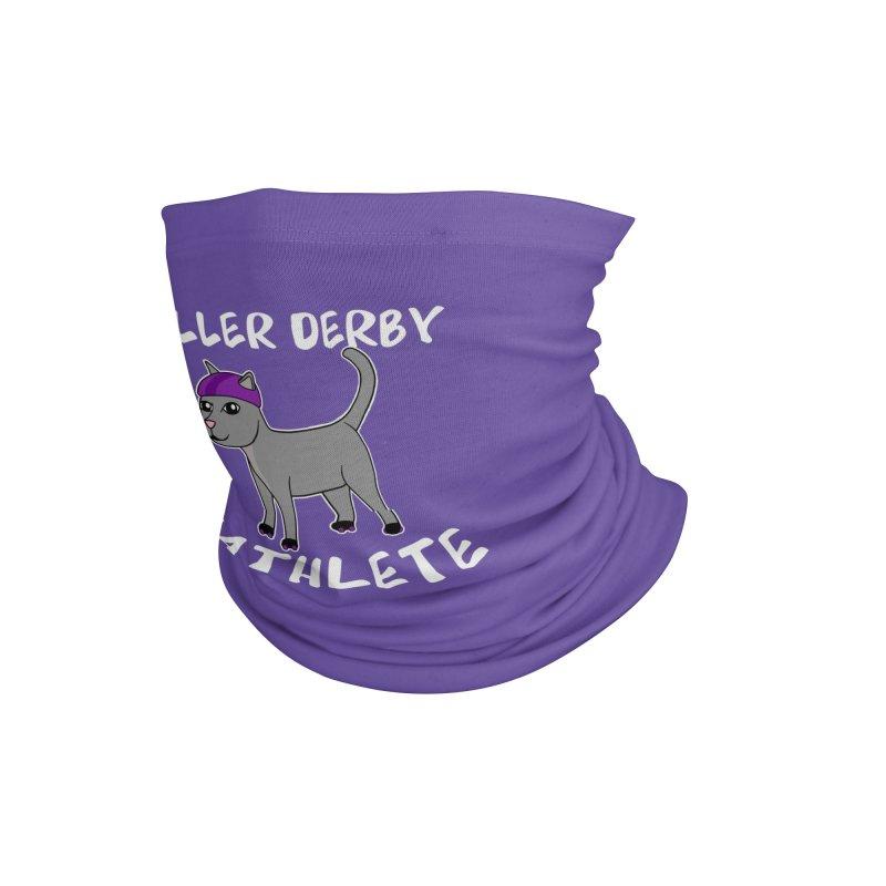 Roller Derby Cathlete Accessories Neck Gaiter by Power Thru the 4th Whistle Roller Derby Podcast