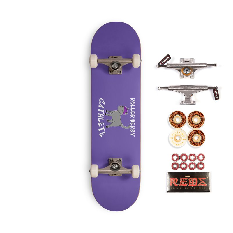 Roller Derby Cathlete Accessories Skateboard by Power Thru the 4th Whistle Roller Derby Podcast