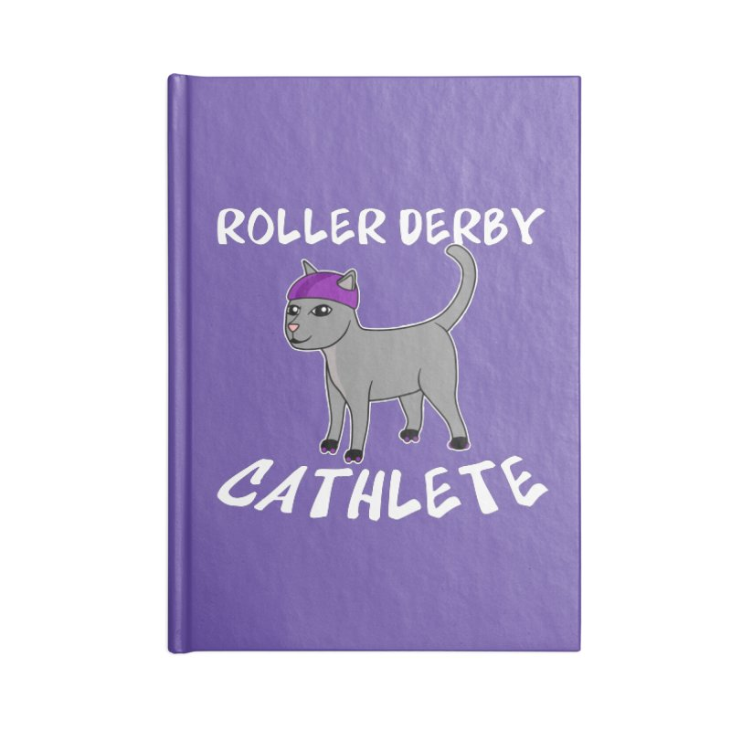 Roller Derby Cathlete Accessories Notebook by Power Thru the 4th Whistle Roller Derby Podcast