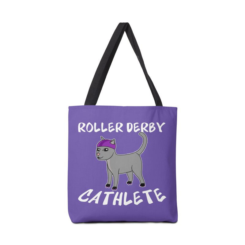 Roller Derby Cathlete Accessories Bag by Power Thru the 4th Whistle Roller Derby Podcast