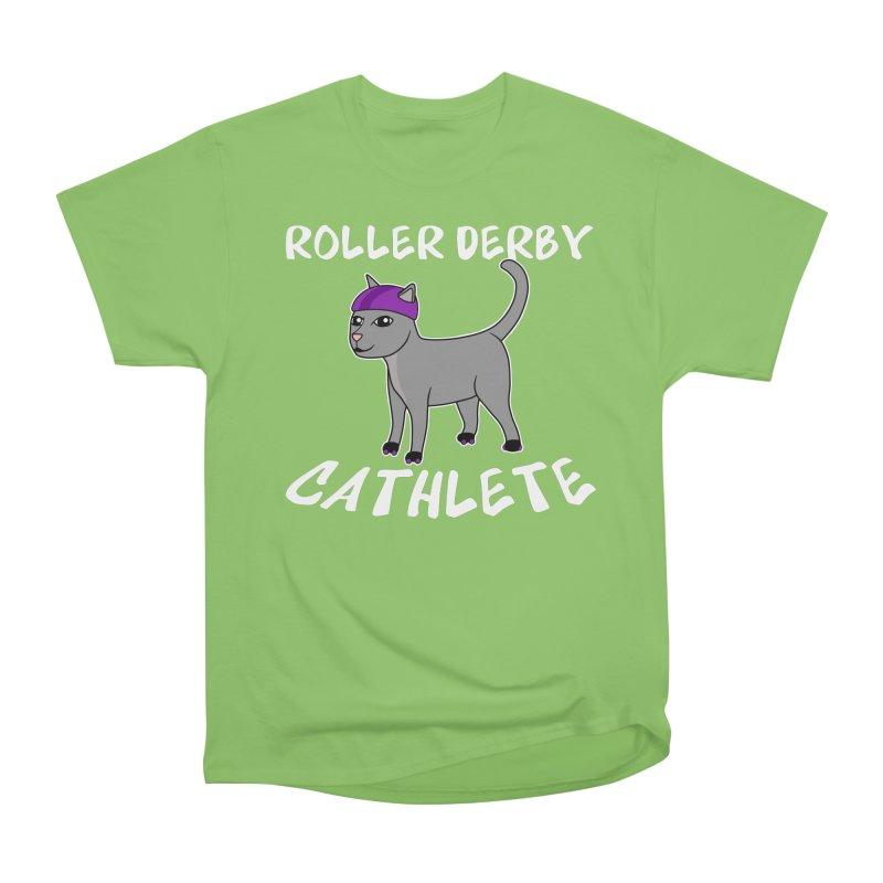Roller Derby Cathlete Women's T-Shirt by Power Thru the 4th Whistle Roller Derby Podcast