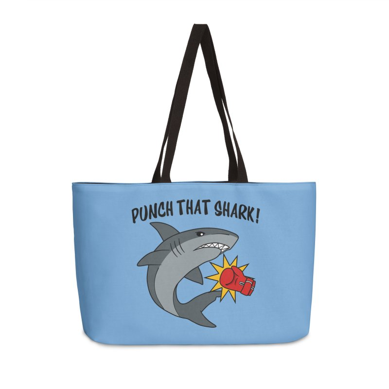 Punch That Shark Accessories Bag by Power Thru the 4th Whistle Roller Derby Podcast