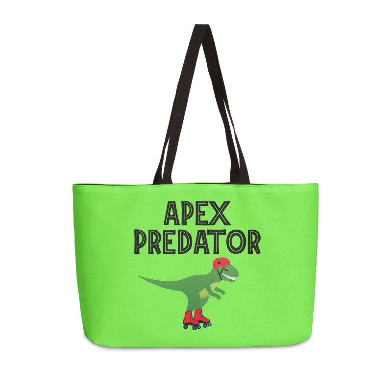 Apex Predator T-Rex Roller Derby Jammer Accessories Bag by Power Thru the 4th Whistle Roller Derby Podcast
