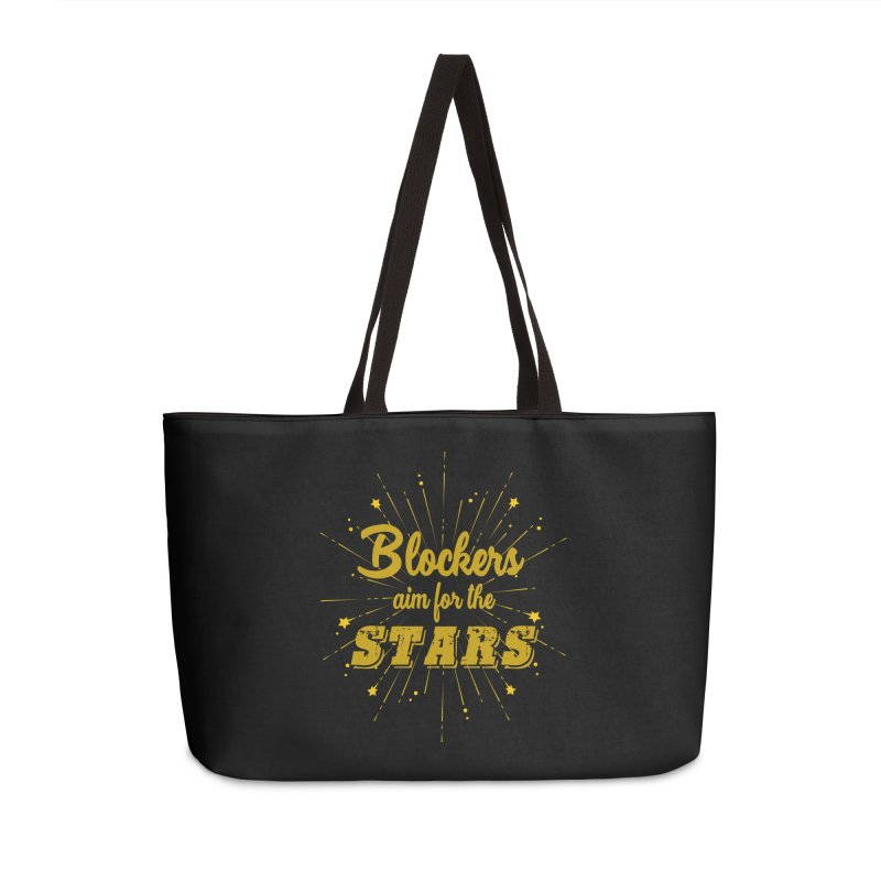 Blockers Aim For the Stars Roller Derby Accessories Bag by Power Thru the 4th Whistle Roller Derby Podcast