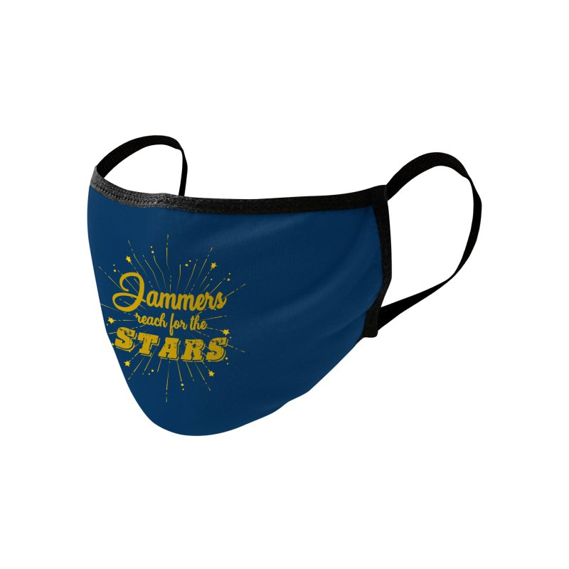 Jammers Reach For the Stars Roller Derby Accessories Face Mask by Power Thru the 4th Whistle Roller Derby Podcast