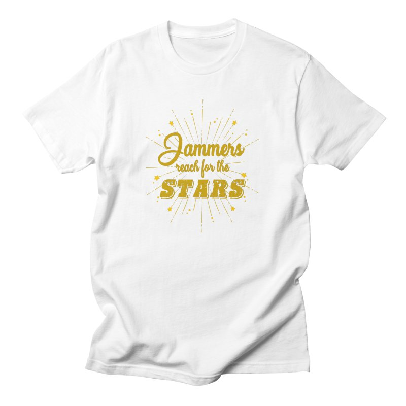 Jammers Reach For the Stars Roller Derby Men's T-Shirt by Power Thru the 4th Whistle Roller Derby Podcast