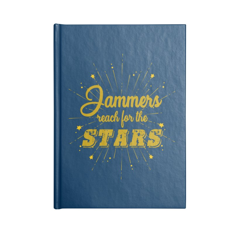 Jammers Reach For the Stars Roller Derby Accessories Notebook by Power Thru the 4th Whistle Roller Derby Podcast