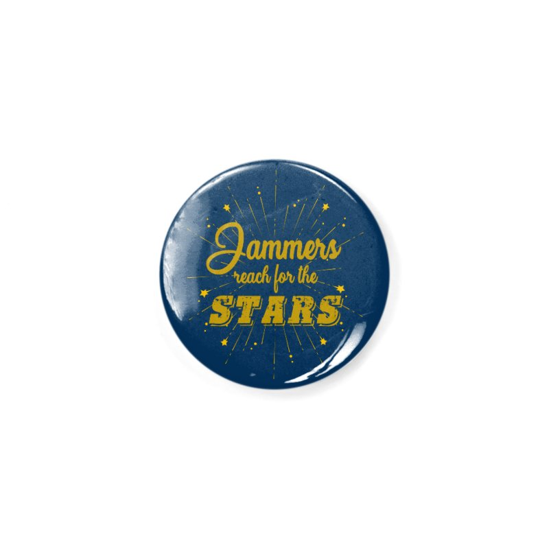 Jammers Reach For the Stars Roller Derby Accessories Button by Power Thru the 4th Whistle Roller Derby Podcast