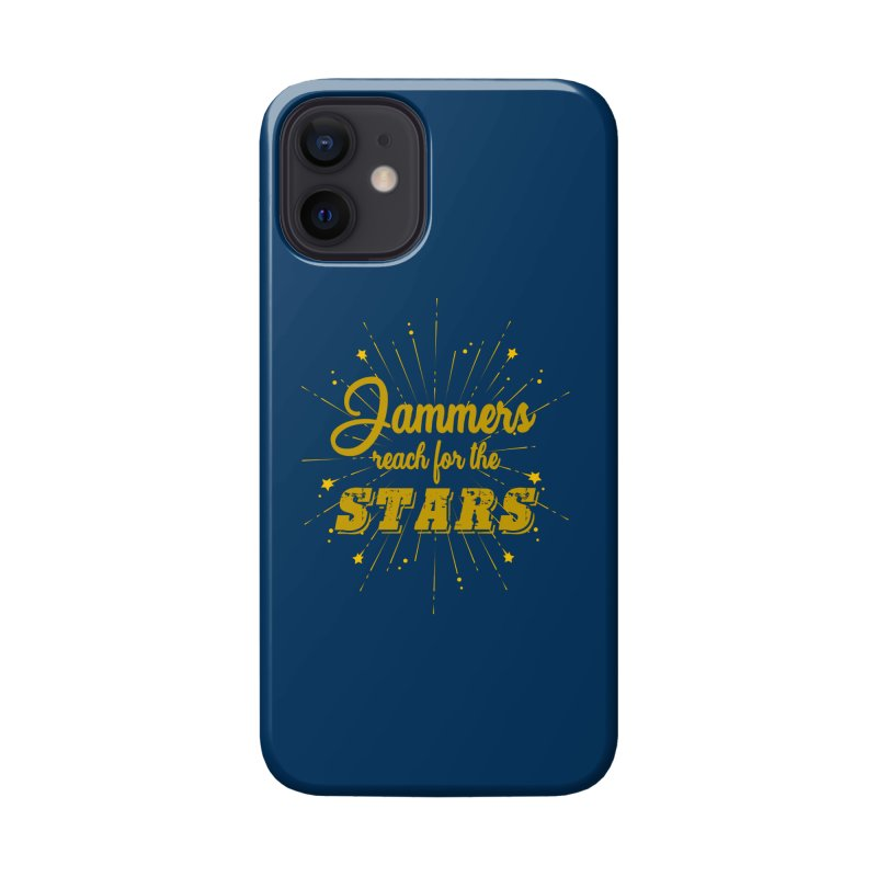 Jammers Reach For the Stars Roller Derby Accessories Phone Case by Power Thru the 4th Whistle Roller Derby Podcast